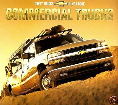 2001 chevy commercial #truck #brochure #-silverado 1500 2500 3500-s10 pickup,  View more on the LINK: 	http://www.zeppy.io/product/gb/2/381932294538/