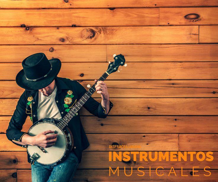 Instrumentos Musicales para disfraces #blog #tienda #disfraces #online #carnaval #halloween