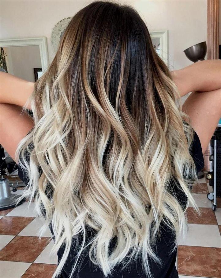 Balayage Beach Blonde OmbreHair