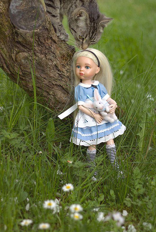 Алиса и Чеширская Катя :) - Научи меня искусству маленьких шагов