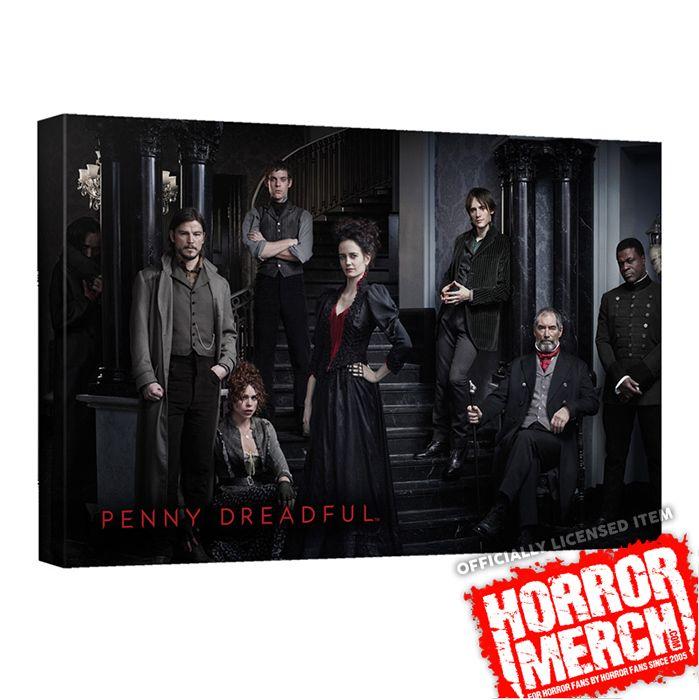 Penny Dreadful - Cast [Canvas Wall Art]