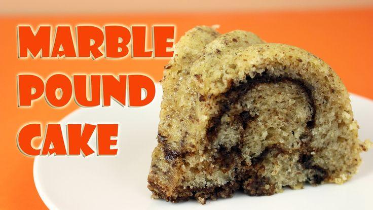 Vegan Marble Pound Cake || Gretchen's Bakery