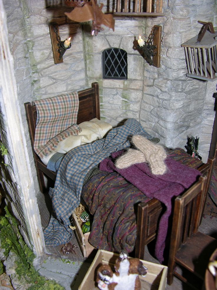 17 best images about harry potter in miniature on What house was hagrid in