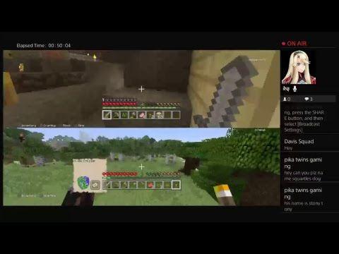 http://minecraftstream.com/minecraft-episodes/minecraft-live-survival-episode-1/ - Minecraft live survival episode 1  This is minecraft on normal mode