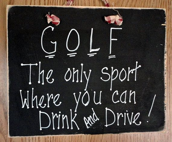 Drinking Games To Play On The Golf Course