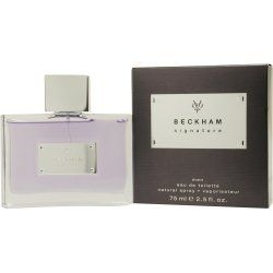 BECKHAM SIGNATURE by Beckham EDT SPRAY 2.5 OZ by BECKHAM SIGNATURE. $23.93. Parfum David Beckham Parfum Homme Eau De Parfum Toilette 50 Ml. EDT SPRAY 2.5 OZ Design House: Beckham Year Introduced: 2008 Fragrance Notes: Candy Apple Patchouli Musk Vanilla Heliotrope Anise Flower Amber Orchid