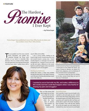 April 2016 JOY! magazine article written by our 2016 BFA speaker, Tricia Goyer. You can READ IT HERE: http://bit.ly/1NmQEKn