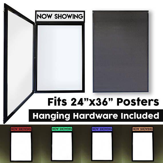 Light Up Movie Poster Frame Poster Frame Movie Poster Light