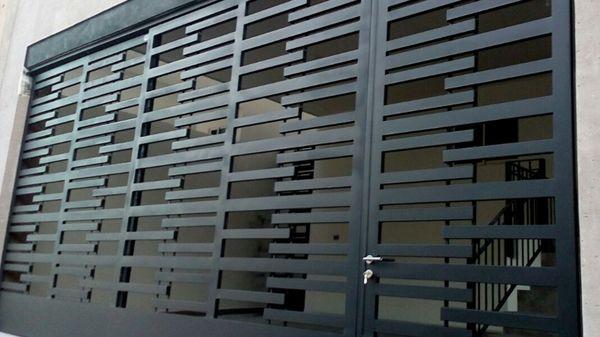 Portones Contempor 225 Neo Herreria Moderna Puertas
