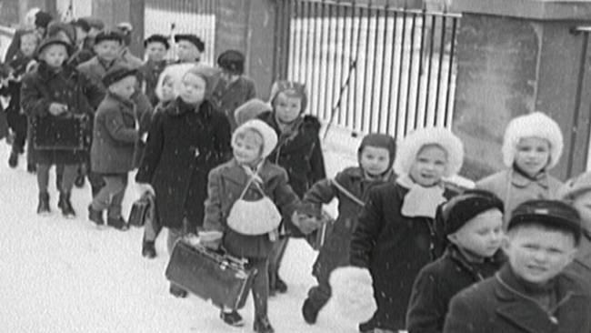 Finnish child evacuees - Winter War Suomen talvisota 1939-1940