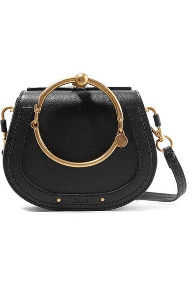 df4b8b7156f2 Chloé - Nile Bracelet Small Textured-leather Shoulder Bag - Black ...