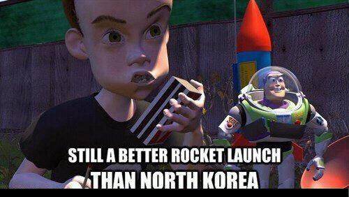 This made me laugh out loud: Funny Things, Funny Disney, Rockets Launch, North Korea, Better Launch, Giggl, Better Rockets, Rocketlaunch Capabl, Awesome Stuff
