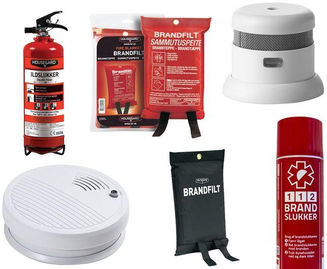"""Mangler du en røgalarm eller brændslukningsudstyr, så kig ind forbi """"Billigbrænde.nu"""" og få et overblik over udstyr, der kan redde liv og give sikkerhed derhjemme."""