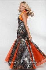 Camo Ball Gowns Camouflage Prom Wedding Homecoming Formals