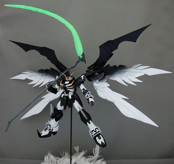 1/100 Six-winged Gundam Deathscythe Hell - Custom Build - Gundam Kits Collection News and Reviews