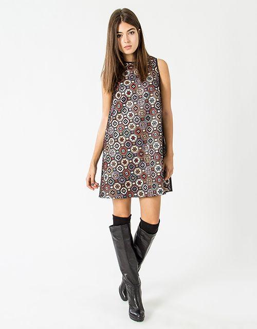 The brocade mini dress