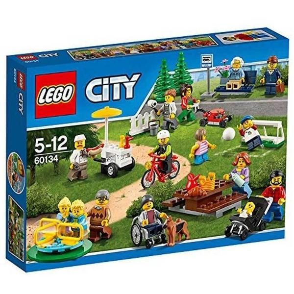 How awesome is this Lego City Fun in the Park people pack! Baby in a pram, wheelchair, soccer, paint roller, lawn mower...  Just when I think we own every Lego person imaginable!  LEGO City Fun in the Park - City People Pack 60134   https://t.cfjump.com/36226/t/32448