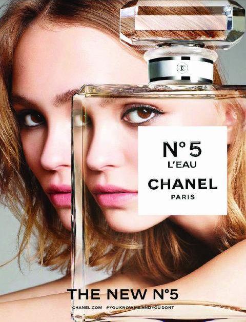 Lily-Rose Depp by Karim Sadli for Chanel 'No.5 L'Eau' Fragrance 2016 Campaign