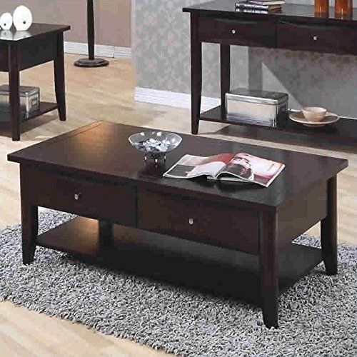 Coaster Home Furnishings 700968 Casual Coffee Table Cappuccino *** See this great product.