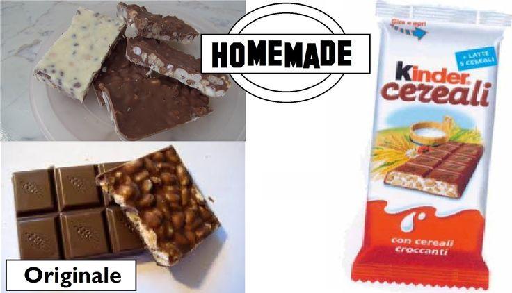 KINDER Cereali HomeMade