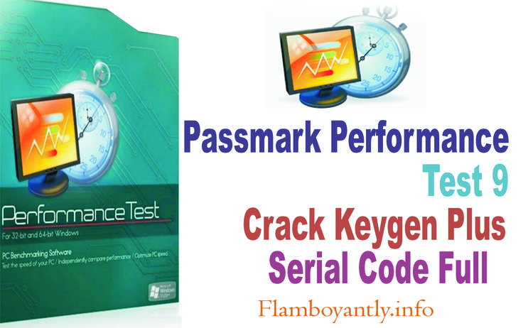 Passmark Performance Test 9 Crack You can find the benchmark of you PC by undergoing different speed tests and contrast the results with other PC system....