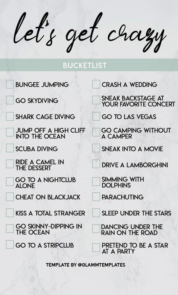 bucket list   Fun questions to ask, Best friend bucket list ...