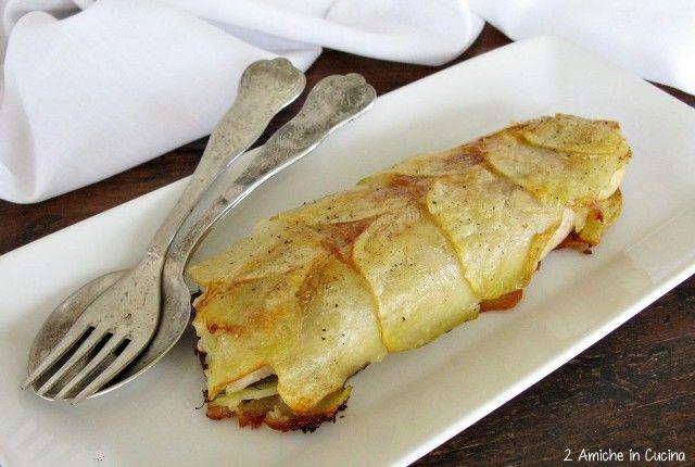 Filetto di persico in crosta di patate rosse di Colfiorito   2