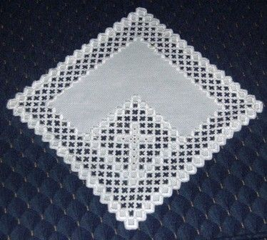 Norwegian Hardanger | Traditional Norwegian cutwork embroidery