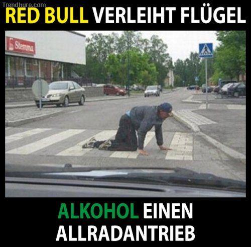 Red Bull <-> Alkohol                                                                                                                                                                                 Mehr