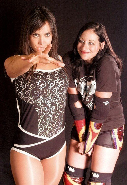 Courtney Rush and Sara Del Rey