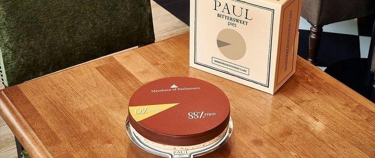 Des desserts sur l'inégalité des genres signés Paul