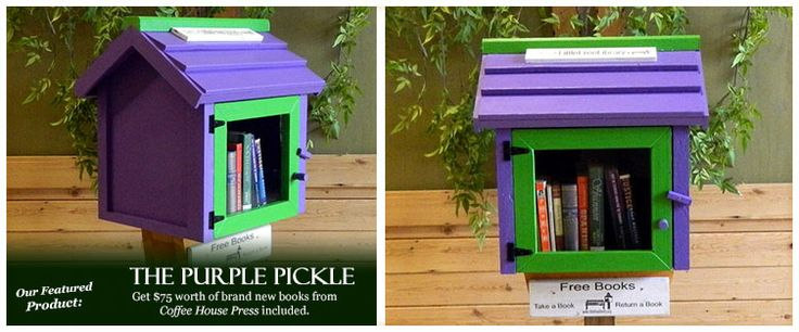 Little Free Library - I.D. idea?