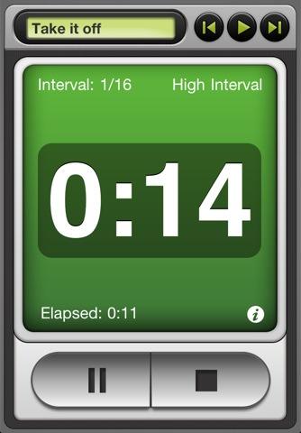 Free Interval Timer App for Bodyrock.tv