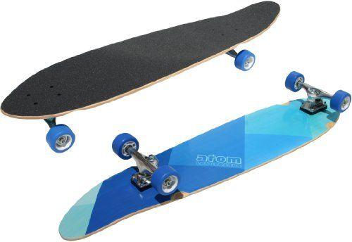 Atom Kick-Tail Longboard (39-Inch)Skateboards, Longboards 39 Inch, Atoms Longboards, Friday Atoms, Kicks Tail Longboards, Atoms Kicktail, Atoms Kicks Tail, Longboards 39Inch, Kicktail Longboards