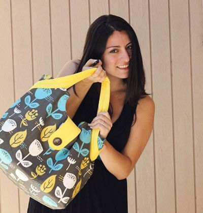 tutorial: back to school laptop bag on sew mama sew