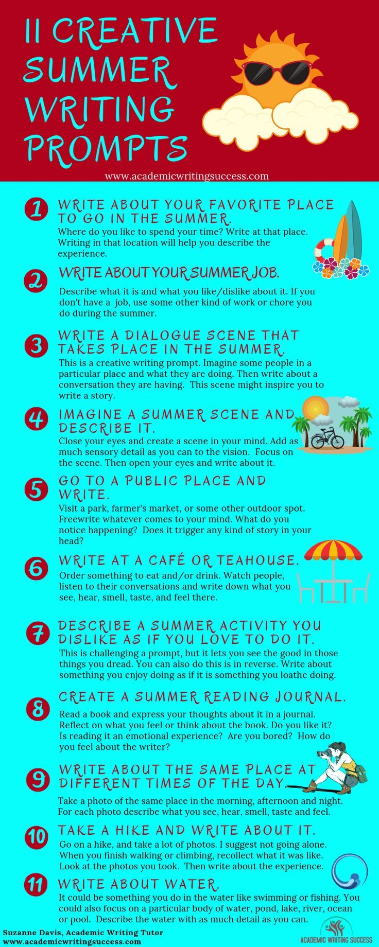 16 Summer Writing Prompts for the Creative Soul - Academic Writing