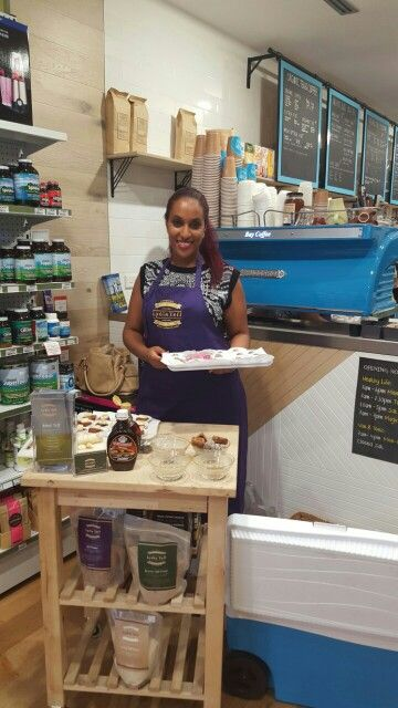 Lydia is always ready to serve you some goodies made using Teff . Come and visit her at #healthylife #westfield #waringahmall to get to know what this ancient grain is and how you can use it. Thursday 10th of Dec between 11am-2pm #teff #Lydiateff #ethiopia #ancientgrain #teffexperts #vegan