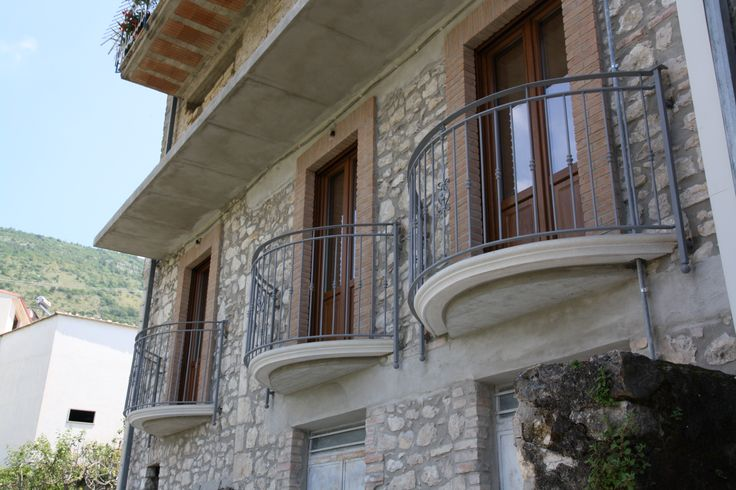 #balcone in #ferro. #balcony #fabbro #iron #smith #romantic #tris