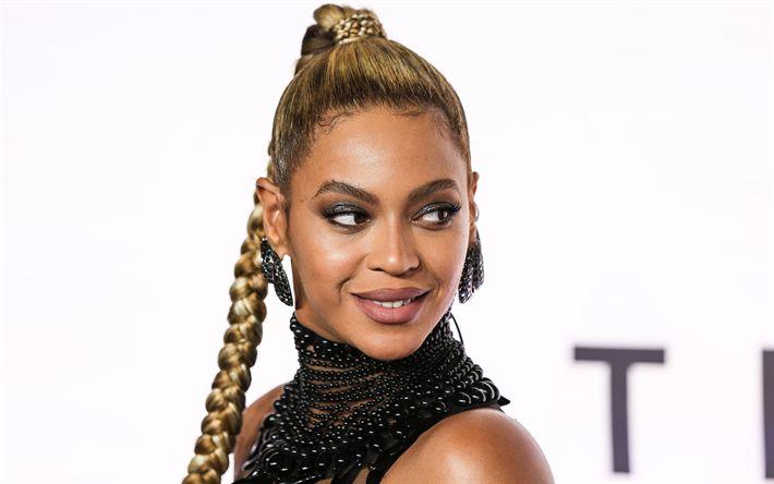 Descargar fondos de pantalla Beyonce, 4k, cantante Estadounidense, retrato, maquillaje, Beyonce Knowles