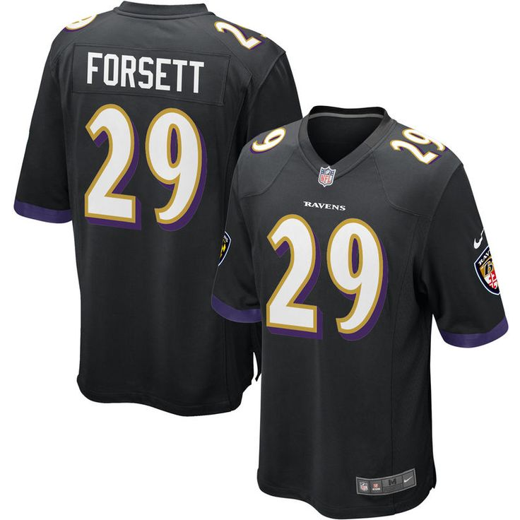 Justin Forsett Baltimore Ravens Nike Youth Game Jersey - Black
