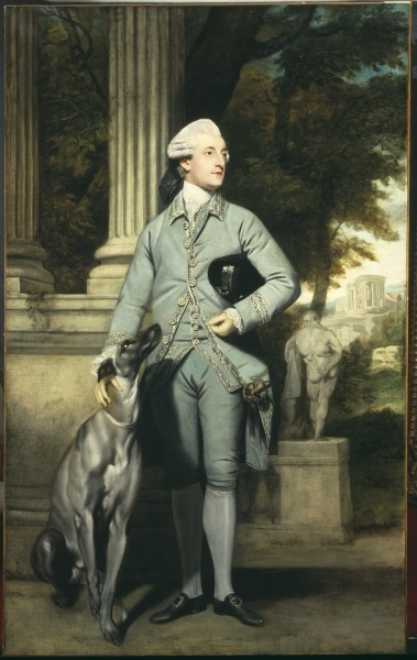 Richard Peer Symons M. P. 1770-1771, by Sir Joshua Reynolds