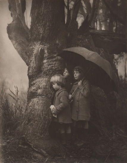 Harold Cazneaux (Australian, 1878-1953) Passing Storm, 1916.