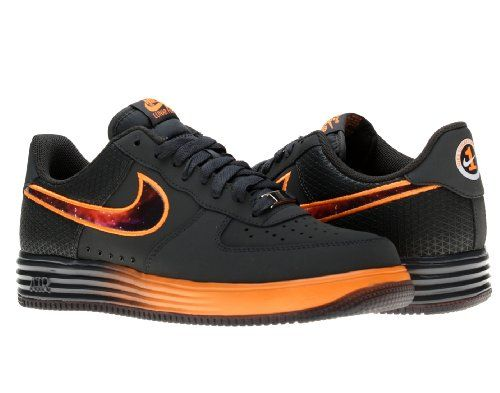 Nike Lunar Air Force 1 Leather Mens Basketball Shoes 580383-001 Grey 13 M US