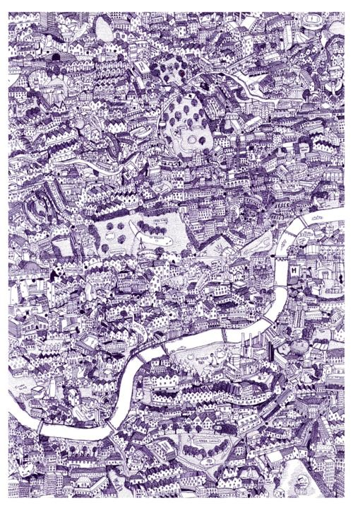 David Ryan Robinson, London Map