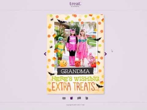 Treat Digital Cards -- Not just another eCard