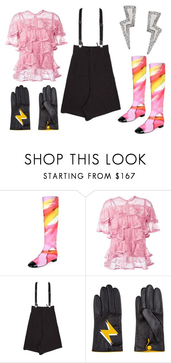 """""""Oblio"""" by thedeannaelizabeth on Polyvore featuring Chanel, Elie Saab, Yohji Yamamoto, Aristide and Tessa Packard"""