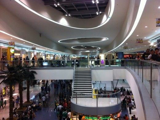 Interior Photo of SM Mall of Asia in Manila, Philippines