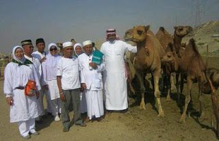 Islam Garis Lurus: Menkes Nila: Jamaah Haji Jangan Selfi dengan Unta