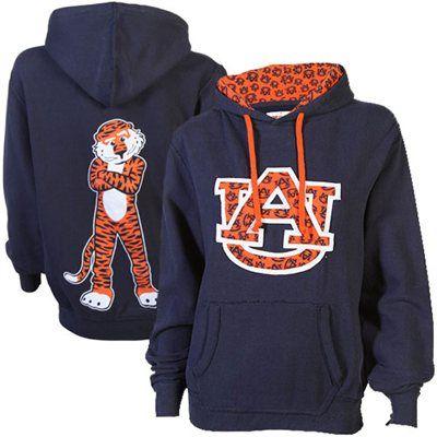 Auburn Tigers Ladies Olivia Hoodie - Navy Blue #fanatics