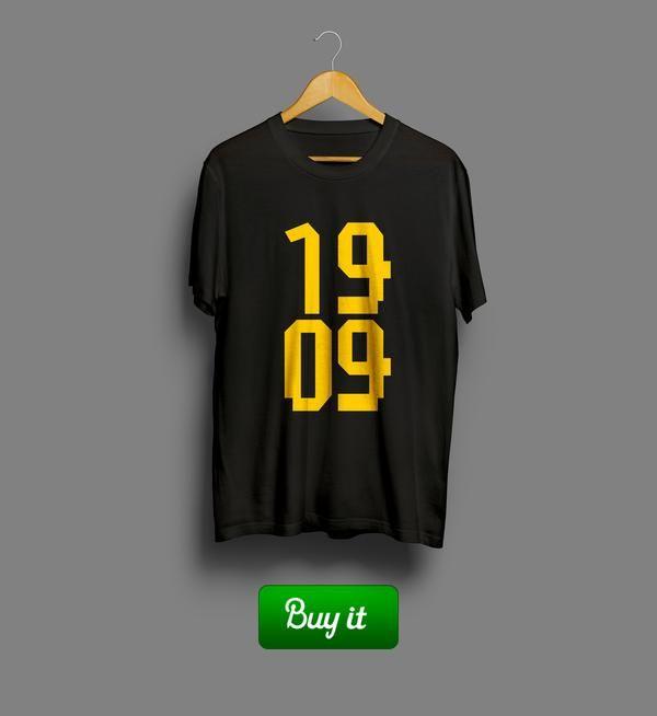 Borussia Dortmund 1909   #Боруссия #Дортмунд #BV #Borussia #Dortmund #Die #Schwarzgelben #Football #Club  #tshirt #футболки #футбол #logo